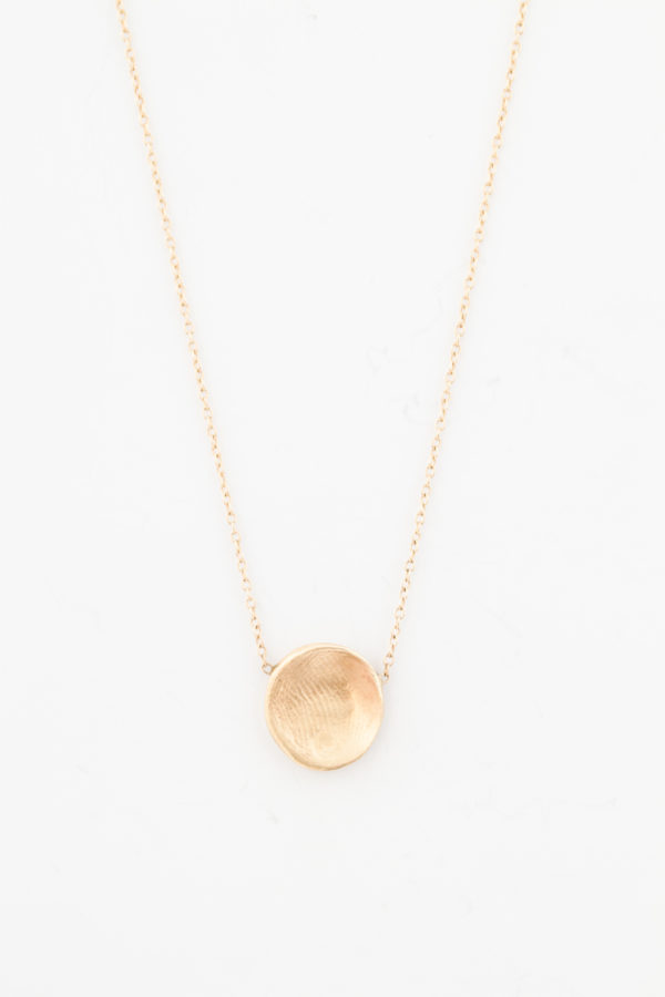 Single Fingerprint Necklace