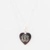 Heart Monogram Charm