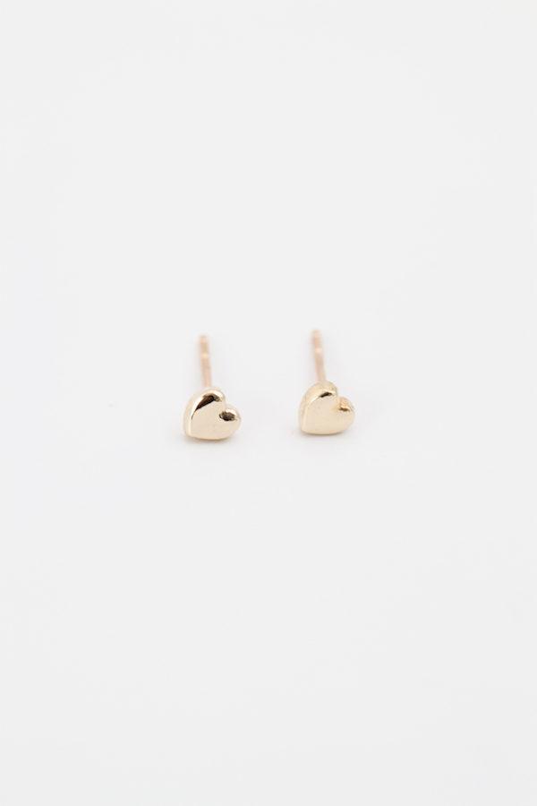 Mini Heart Studs
